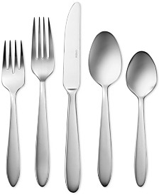 CLOSEOUT! Oneida Mooncrest 45-Pc. Stainless Steel Flatware Set, Service for 8