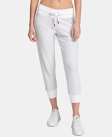 DKNY Sport Cropped Joggers, Created for Macy's