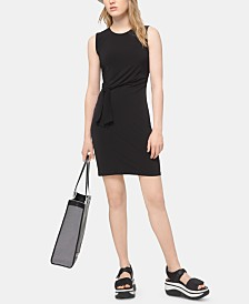 MICHAEL Michael Kors Belted Dress, Regular & Petite