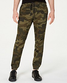 Men's Articulated Camo Jogger Pants, Created for Macy's