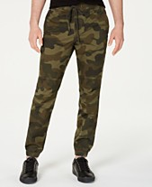 db657d8165 American Rag Men's Articulated Camo Jogger Pants, Created for Macy's