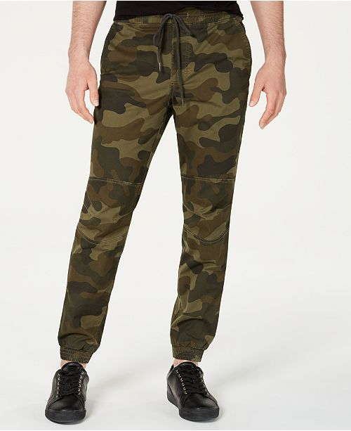 American Rag Men's Articulated Camo Jogger Pants, Created for Macy's