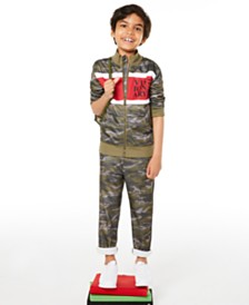 Epic Threads Toddler Boys Visionary Camouflage Tricot Jacket & Pants, Created for Macy's