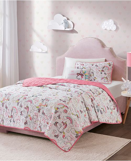 Mi Zone Peggy Reversible Coverlet Sets