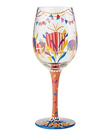 Lolita Happy Birthday Wine Glass