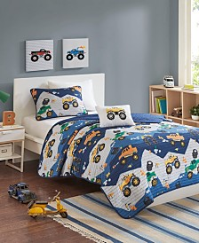 Mi Zone Kids Nash 4-Pc. Reversible Coverlet Sets
