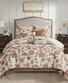 Madison Park Signature Wentworth King 9 Piece Jacquard Comforter Bedding Set