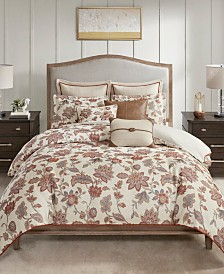 Madison Park Signature Wentworth King 9 Piece Jacquard Comforter Bedding Set
