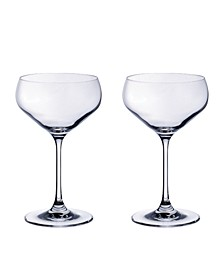 Purismo Bar Champagne Coup: Set of 2