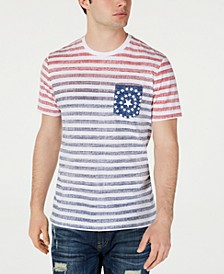 Men's Tonal Striped Pocket T-Shirt, Created for Macy's