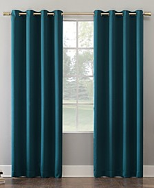 "Oslo 52"" x 84"" Theater Grade Blackout Grommet Curtain Panel"