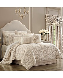 J Queen Milano Sand King Comforter Set