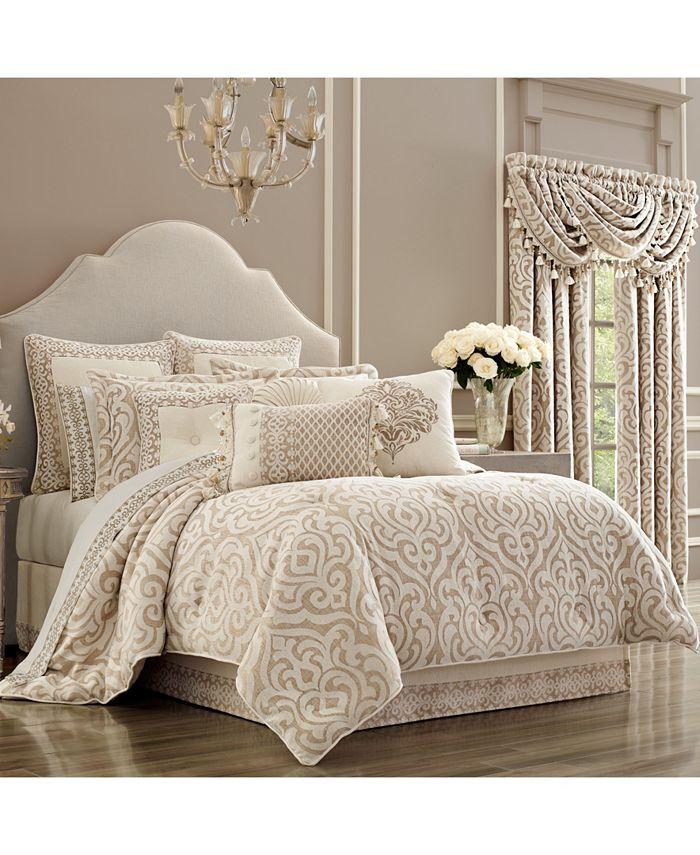 J Queen New York - Milano Sand King Comforter Set