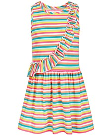 Toddler Girls Rainbow Stripe Dress, Created for Macy's