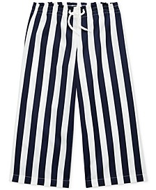 Toddler Girls Striped Cotton Dobby Pants