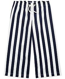 Polo Ralph Lauren Little Girls Striped Cotton Dobby Pants