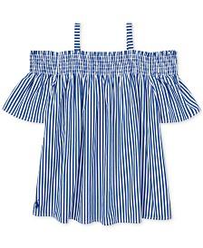 Polo Ralph Lauren Big Girls Cotton Off-The-Shoulder Top