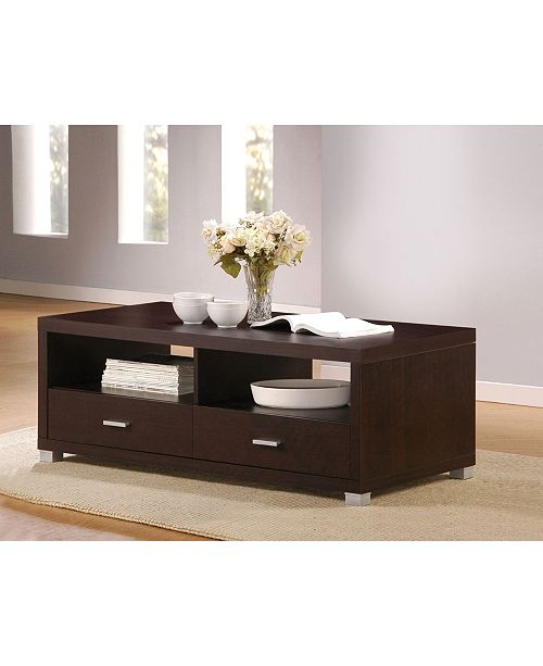 Acme Furniture Redland Coffee Table with 2 Drawers