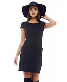 AX Paris Capped Sleeve Bodycon Dress