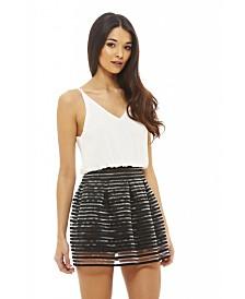 AX Paris 2 in 1 Elastic Skirt Dress