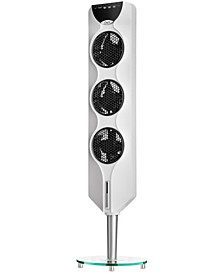 "44"" 3x Tower Fan with Passive Noise Reduction Technology"
