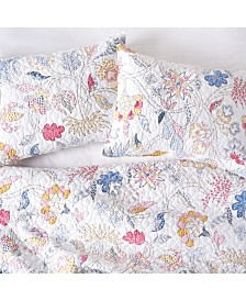 Brie Flamingo Twin Quilt