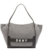 a561a9273 DKNY Ebony Mesh Tote, Created for Macy's
