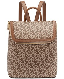 Bryant Logo Top Zip Backpack, Created for Macy's