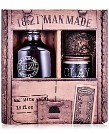 18.21 Man Made 2-Pc. Wash & Clay Gift Set