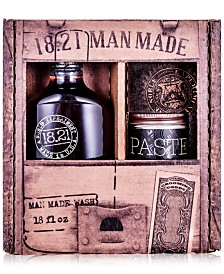 18.21 Man Made 2-Pc. Wash & Paste Gift Set