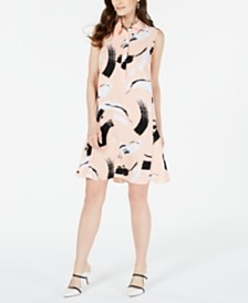 Alfani Printed Shirtdress, Created for Macy's