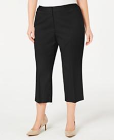 Alfani Plus Size Capri Pants, Created For Macy's