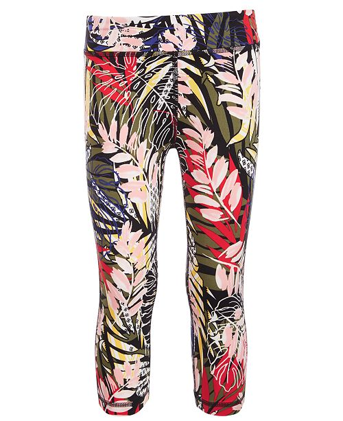 Ideology Toddler Girls Printed Capri Leggings, Created for Macy's