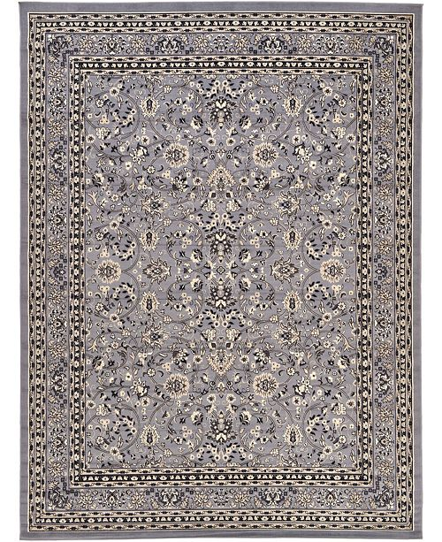 "Bridgeport Home Arnav Arn1 Gray 9' 10"" x 13' Area Rug"