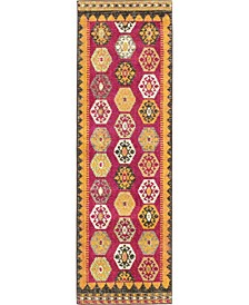 "CLOSEOUT! Arcata Arc8 Red 2' 2"" x 6' 7"" Runner Area Rug"