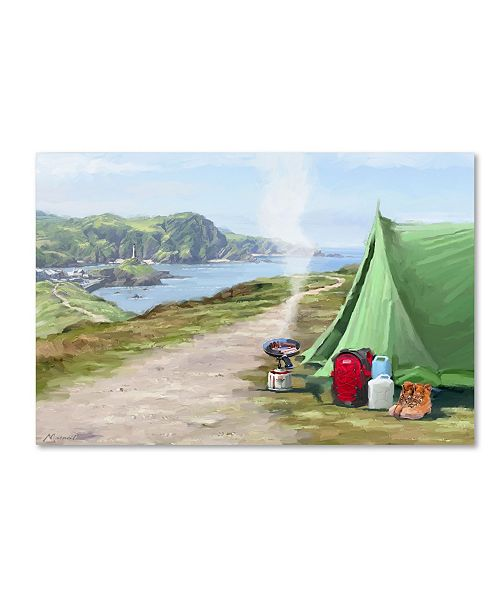"Trademark Global The Macneil Studio 'Camping' Canvas Art - 16"" x 24"""