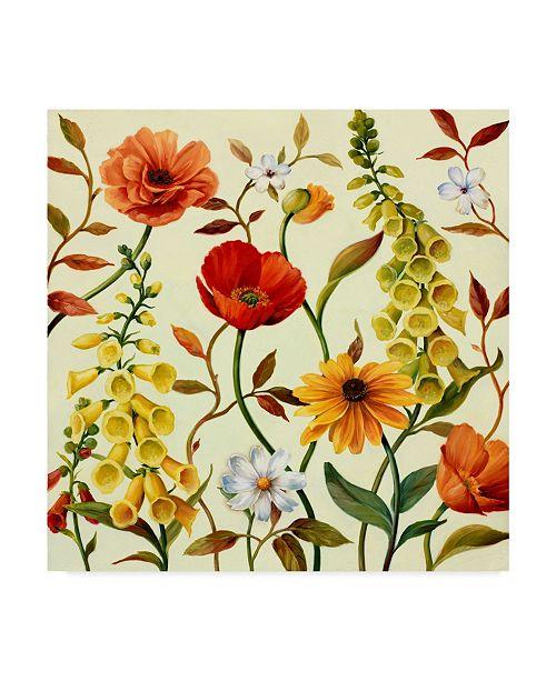 "Trademark Global Lisa Audit 'Lisa's Garden 2' Canvas Art - 18"" x 18"""