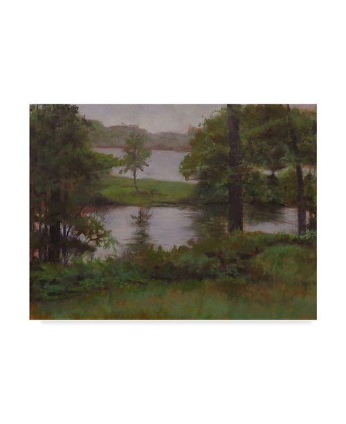 "Trademark Global Rusty Frentner 'Kent Lake' Canvas Art - 18"" x 24"""