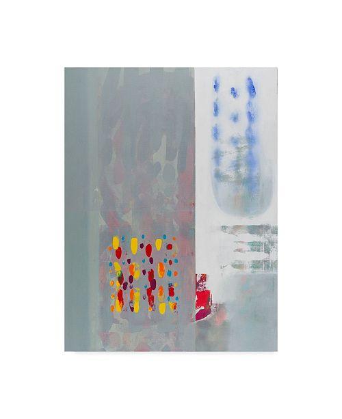 "Trademark Global Hooshang Khorasani 'Subtle Color Storm 2' Canvas Art - 14"" x 19"""