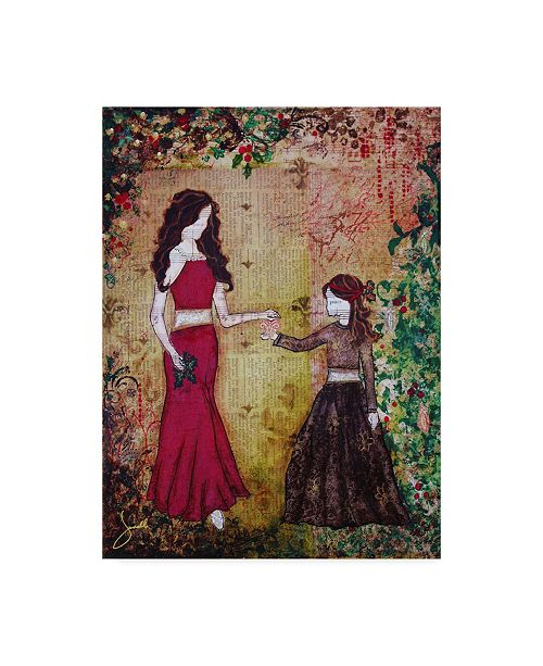 "Trademark Global Janelle Nichol 'Deck The Halls' Canvas Art - 14"" x 19"""