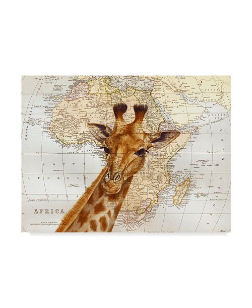 """Trademark Global Jane Wilson 'Out Of Africa' Canvas Art - 19"""" x 14"""""""