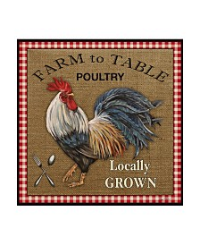 "Jean Plout 'Farm To Table 1' Canvas Art - 14"" x 14"""