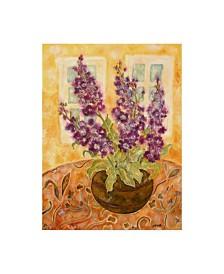 "Lorraine Platt 'Scented English Stocks' Canvas Art - 14"" x 19"""