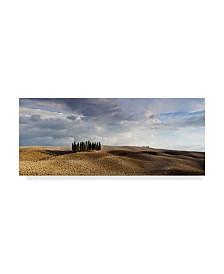 "Maciej Duczynski 'Rustic Italy 3' Canvas Art - 19"" x 8"""