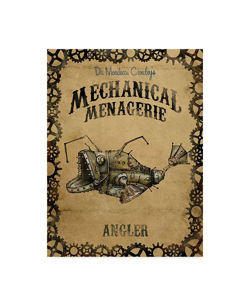 "Trademark Global Michael Murdock 'Angler' Canvas Art - 18"" x 24"""