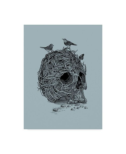 "Trademark Global Rachel Caldwell 'Skull Nest' Canvas Art - 18"" x 24"""