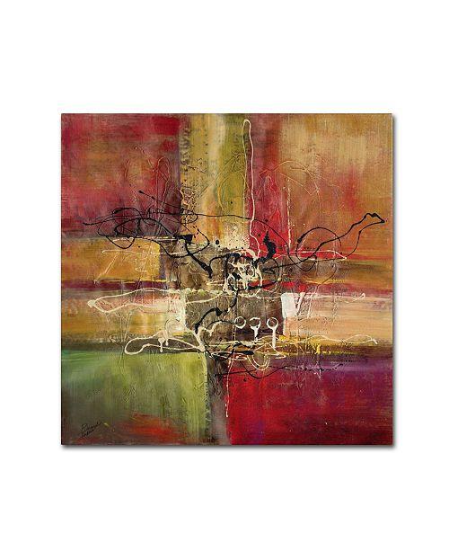"Trademark Global Ricardo Tapia 'Round and Round' Canvas Art - 18"" x 18"""
