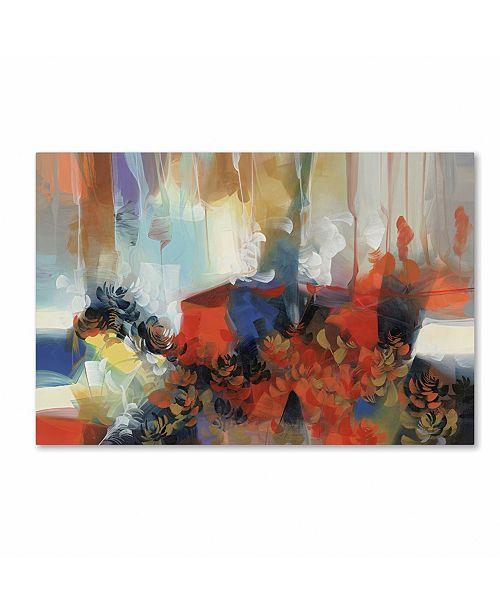 "Trademark Global Masters Fine Art 'Swan' Canvas Art - 22"" x 32"""