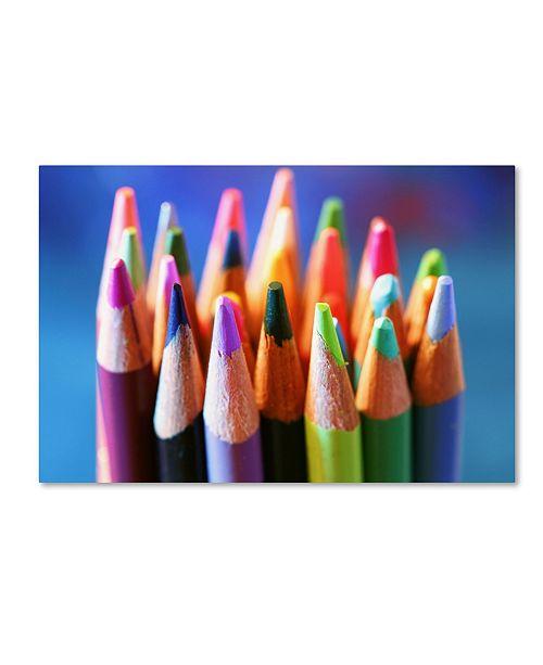 """Trademark Global Jason Shaffer 'Pencils 2' Canvas Art - 47"""" x 30"""""""