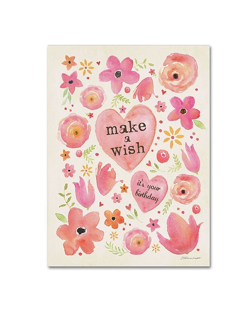 "Trademark Global Stephanie Marrott 'A Wish' Canvas Art - 24"" x 32"""